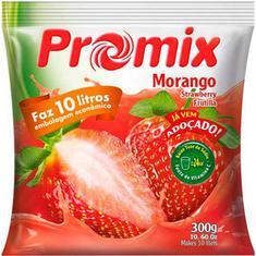 Refresco em Pó Sabor Morango Promix 300g