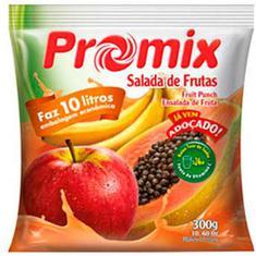 Refresco em Pó Sabor Salada de Frutas Promix 300g
