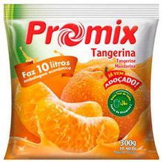 Refresco em Pó Sabor Tangerina Promix 300g