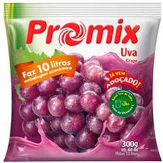 Refresco em Pó Sabor Uva Promix 300g