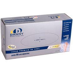 Luvas Vinil P Da-301 Danny 100 Unidades