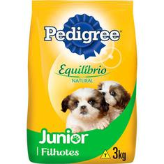 Alimento para Cães Junior Equilíbrio Natural Pedigree 3kg