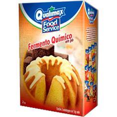 Fermento Quimico em Pó Qualimax 2Kg