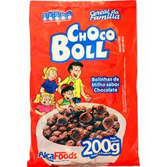 Cereal Chocoboll Alcafoods 200g