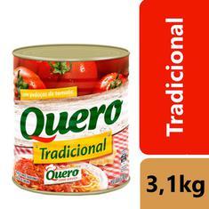 Molho de Tomate Tradicional Quero 3,1kg