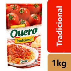 Molho de Tomate Tradicional com Pedaços Quero 1,02g