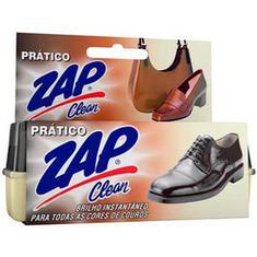 Brilho para Calcados Pratico Zap Clean 5g