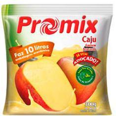 Refresco em Pó Sabor Caju Promix 300g