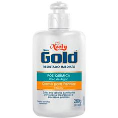 Creme Pentear Pós Quimica Niely Gold 280g