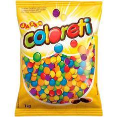 Confeito de Chocolate Coloreti Jazam 1Kg
