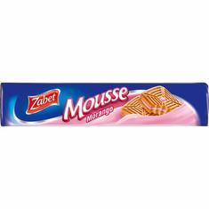 Biscoito Recheado Sabor Mousse de Morango Zabet 145g