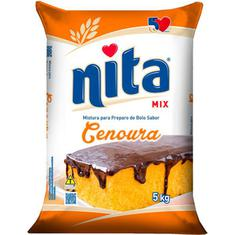 Mistura para bolo Cenoura Nita 5Kg