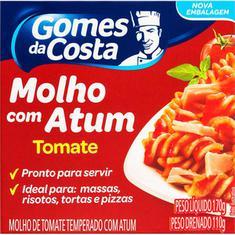 Atum Ralado com Molho de Tomate Gomes da Costa 170g