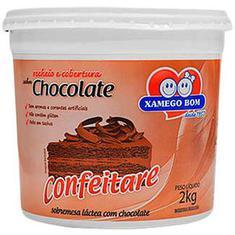 Recheio e Cobertura sabor Chocolate Xamego Bom 2kg