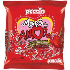 Pirulito sabor Maçã do Amor Peccin 480g