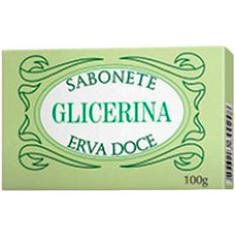 Sabonete de Glicerina Erva Doce Augusto Caldas 100g