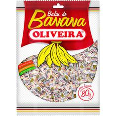 Bala de Banana Oliveira 80g