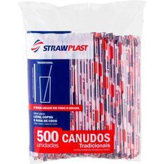 Canudo 5mm Strawplast 500un
