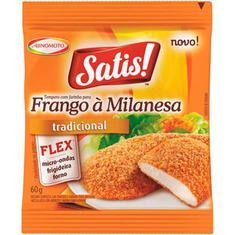 Tempero para Frango à Milanesa Tradicional Satis Ajinomoto 60g