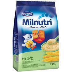 Cereal Infantil de Milho Milnutri Danone 230g