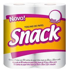 Papel Toalha Snack 2un