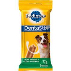 Petisco para Cães Adultos Dentastix Raças Médias Pedigree 75g