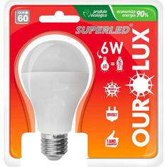 Lâmpada LED Luz Fria 6W Bivolt Ourolux