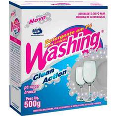 Detergente em Pó para Lava Louças Washing 500g