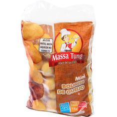 Mini Bolinho sabor Queijo Massa Tung 1Kg