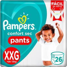 Fralda Confort Sec Pants XXG Pampers 26un