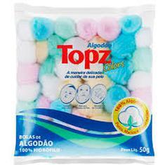 Algodão em Bola Color Topz 50g