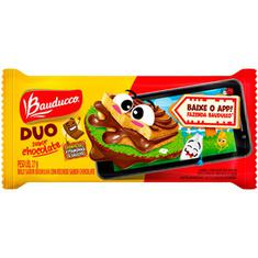 Bolinho Duo Chocolate Bauducco 27g