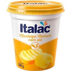 Manteiga com Sal Italac 500g