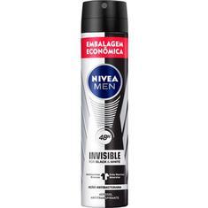 Desodorante Black & White Masculino Nivea 150+50ml