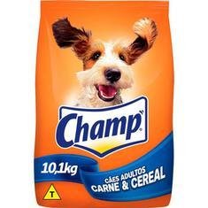 Ração para Cães Sabor Carne e Cereais Champ 10,1kg