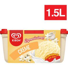 Sorvete de Creme Kibon 1,5L
