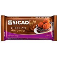 Chocolate Gold Meio Amargo Sicao 1.05kg