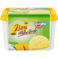 Sorvete de Milho Verde Jundiá 2L