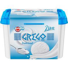 Sorvete de Iogurte Grego Jundiá 2L