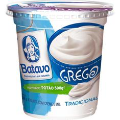 Iogurte Grego Tradicional Batavo 500g