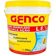 Cloro Granulado 3em1 L E Genco 10kg