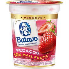 Iogurte com Pedaços de Morango Batavo 100g
