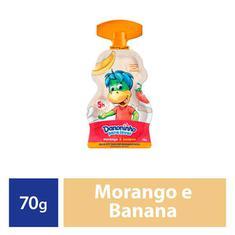 Petit Suisse Para Levar Sabor Morango e Banana Danoninho 70g