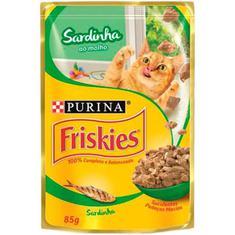 Alimento para Gato sabor Sardinha ao Molho Friskies 85g