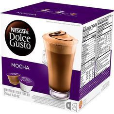 Cápsulas de Café Mocha Nescafé Dolce Gusto 128g