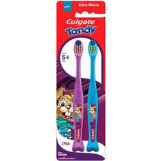 Escova Dental Tandy Colgate 2un.