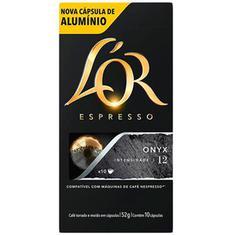 Cápsulas de Café Espresso Onyx Lor Café do Ponto 52g