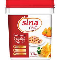 Gordura Vegetal Sina Fry 14,5kg