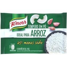 Tempero Meu Arroz Alho e Cebola Knorr 48g