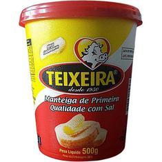 Manteiga com Sal Teixeira 500g